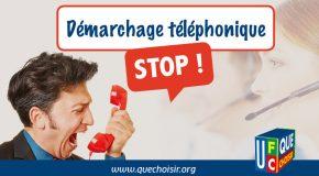 Pétition contre le harcèlement téléphonique