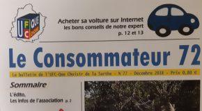 Bulletins Le Consommateur 72