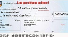 Avec les consommateurs, l'UFC-Que Choisir dit stop aux chèques en blanc !