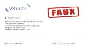 ALERTE : Gare aux faux courriers de l'URSSAF