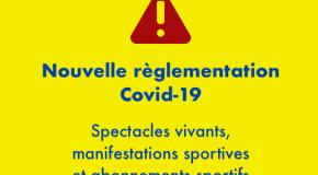 Covid-19 : Nouvelles règles de remboursement des manifestations sportives et culturelles et des clubs de sport