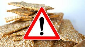 Aliments au sésame contaminés – Des rappels non suivis d'effet